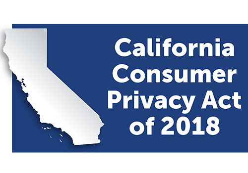 California Consumer Privacy Act of 2018.