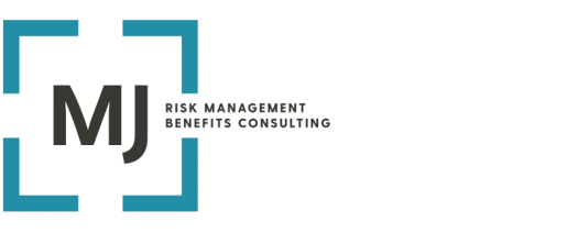MJ Insurance risk management and benefits consulting logo.