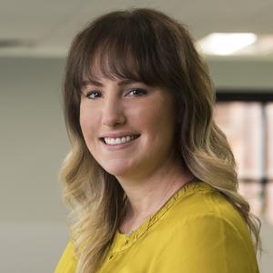 Kasey Stevens, Marketing + Communications Specialist