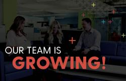 Our Team Is Growing.