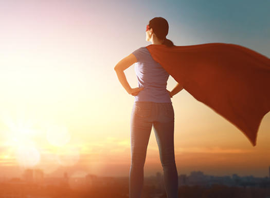 Super woman image